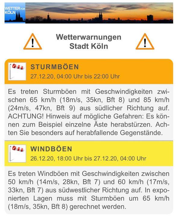 Wetter Köln Weidenpesch